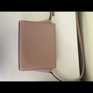 Light pink crossbody Kate Spade purse